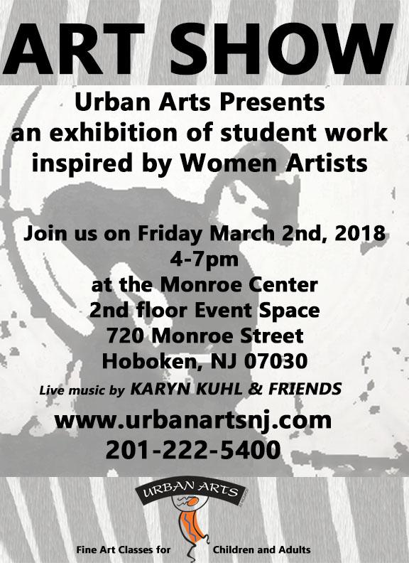 Urban Arts | Art Classes for Children and Adults in Hoboken, NJ